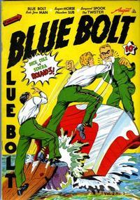 Cover Thumbnail for Blue Bolt (Novelty / Premium / Curtis, 1940 series) #v2#3 [15]