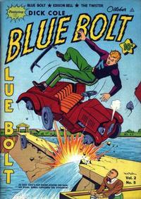 Cover Thumbnail for Blue Bolt (Novelty / Premium / Curtis, 1940 series) #v2#5 [17]