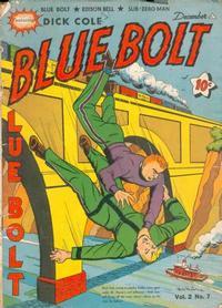 Cover Thumbnail for Blue Bolt (Novelty / Premium / Curtis, 1940 series) #v2#7 [19]
