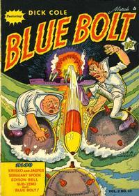 Cover Thumbnail for Blue Bolt (Novelty / Premium / Curtis, 1940 series) #v2#10 [22]