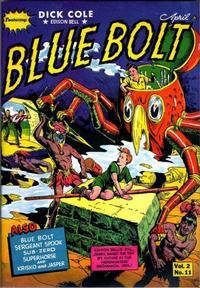 Cover Thumbnail for Blue Bolt (Novelty / Premium / Curtis, 1940 series) #v2#11 [23]