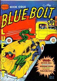 Cover Thumbnail for Blue Bolt (Novelty / Premium / Curtis, 1940 series) #v2#12 [24]