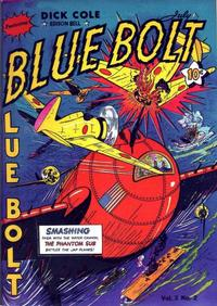 Cover Thumbnail for Blue Bolt (Novelty / Premium / Curtis, 1940 series) #v3#2 [26]