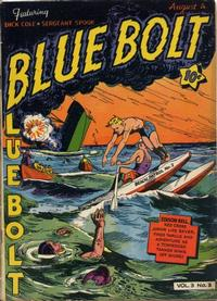 Cover Thumbnail for Blue Bolt (Novelty / Premium / Curtis, 1940 series) #v3#3 [27]
