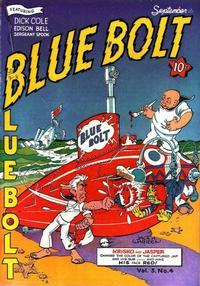 Cover Thumbnail for Blue Bolt (Novelty / Premium / Curtis, 1940 series) #v3#4 [28]