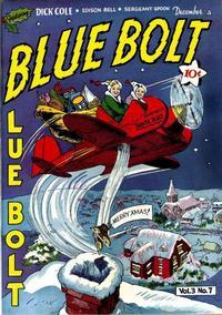 Cover Thumbnail for Blue Bolt (Novelty / Premium / Curtis, 1940 series) #v3#7 [31]