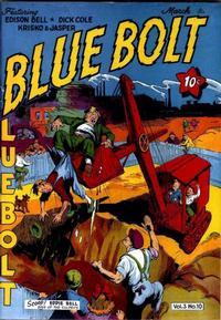 Cover Thumbnail for Blue Bolt (Novelty / Premium / Curtis, 1940 series) #v3#10 [34]