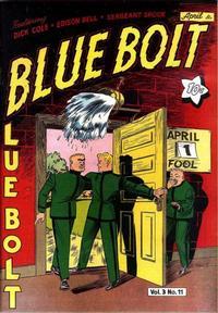 Cover Thumbnail for Blue Bolt (Novelty / Premium / Curtis, 1940 series) #v3#11 [35]