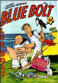 Cover Thumbnail for Blue Bolt (Novelty / Premium / Curtis, 1940 series) #v3#12 [36]