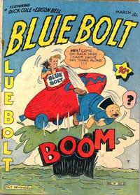 Cover Thumbnail for Blue Bolt (Novelty / Premium / Curtis, 1940 series) #v4#8 [44]