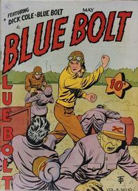 Cover Thumbnail for Blue Bolt (Novelty / Premium / Curtis, 1940 series) #v4#10 [46]