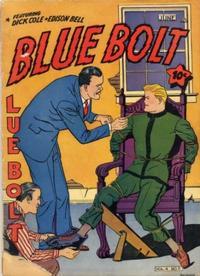 Cover Thumbnail for Blue Bolt (Novelty / Premium / Curtis, 1940 series) #v4#11 [47]