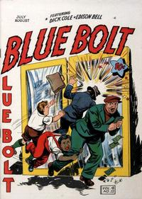 Cover Thumbnail for Blue Bolt (Novelty / Premium / Curtis, 1940 series) #v4#12 [48]