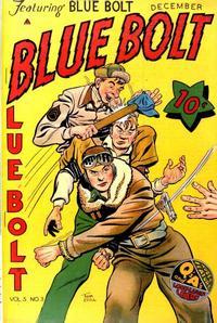 Cover Thumbnail for Blue Bolt (Novelty / Premium / Curtis, 1940 series) #v5#3 [51]