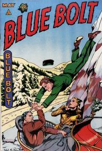 Cover Thumbnail for Blue Bolt (Novelty / Premium / Curtis, 1940 series) #v5#8 [56]