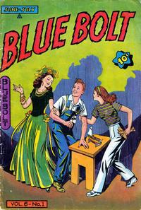 Cover Thumbnail for Blue Bolt (Novelty / Premium / Curtis, 1940 series) #v6#1 [57]