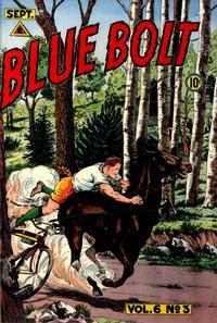 Cover for Blue Bolt (Novelty / Premium / Curtis, 1940 series) #v6#3 [59]