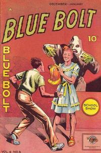 Cover Thumbnail for Blue Bolt (Novelty / Premium / Curtis, 1940 series) #v6#6 [62]