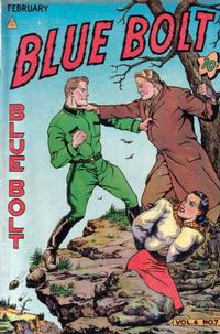 Cover Thumbnail for Blue Bolt (Novelty / Premium / Curtis, 1940 series) #v6#7 [63]