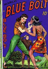 Cover Thumbnail for Blue Bolt (Novelty / Premium / Curtis, 1940 series) #v6#8 [64]