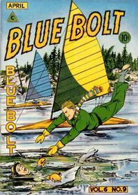 Cover Thumbnail for Blue Bolt (Novelty / Premium / Curtis, 1940 series) #v6#9 [65]