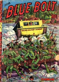 Cover Thumbnail for Blue Bolt (Novelty / Premium / Curtis, 1940 series) #v7#1 [67]