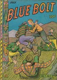 Cover Thumbnail for Blue Bolt (Novelty / Premium / Curtis, 1940 series) #v7#2 [68]