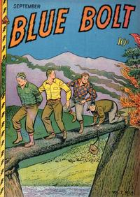 Cover Thumbnail for Blue Bolt (Novelty / Premium / Curtis, 1940 series) #v7#4 [70]
