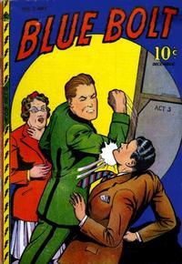 Cover Thumbnail for Blue Bolt (Novelty / Premium / Curtis, 1940 series) #v7#7 [73]