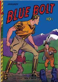 Cover Thumbnail for Blue Bolt (Novelty / Premium / Curtis, 1940 series) #v7#8 [74]