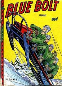 Cover Thumbnail for Blue Bolt (Novelty / Premium / Curtis, 1940 series) #v7#9 [75]