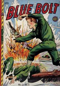 Cover Thumbnail for Blue Bolt (Novelty / Premium / Curtis, 1940 series) #v7#11 [77]