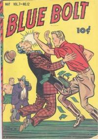 Cover Thumbnail for Blue Bolt (Novelty / Premium / Curtis, 1940 series) #v7#12 [78]