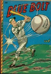 Cover Thumbnail for Blue Bolt (Novelty / Premium / Curtis, 1940 series) #v8#1 [79]