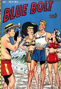 Cover Thumbnail for Blue Bolt (Novelty / Premium / Curtis, 1940 series) #v8#2 [80]