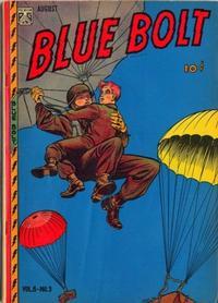 Cover Thumbnail for Blue Bolt (Novelty / Premium / Curtis, 1940 series) #v8#3 [81]