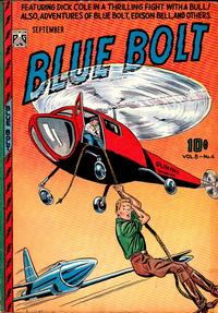 Cover Thumbnail for Blue Bolt (Novelty / Premium / Curtis, 1940 series) #v8#4 [82]