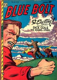 Cover Thumbnail for Blue Bolt (Novelty / Premium / Curtis, 1940 series) #v8#8 [86]