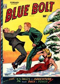 Cover Thumbnail for Blue Bolt (Novelty / Premium / Curtis, 1940 series) #v8#9 [87]