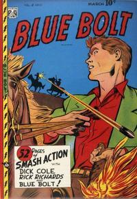 Cover Thumbnail for Blue Bolt (Novelty / Premium / Curtis, 1940 series) #v8#10 [88]