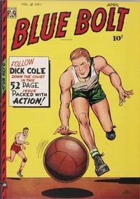 Cover Thumbnail for Blue Bolt (Novelty / Premium / Curtis, 1940 series) #v8#11 [89]