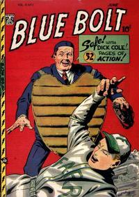 Cover Thumbnail for Blue Bolt (Novelty / Premium / Curtis, 1940 series) #v9#1 [91]