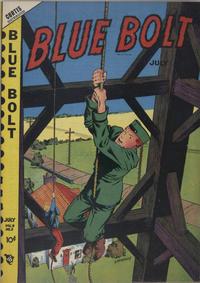 Cover Thumbnail for Blue Bolt (Novelty / Premium / Curtis, 1940 series) #v9#2 [92]