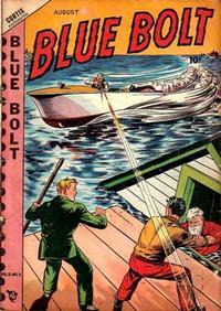 Cover Thumbnail for Blue Bolt (Novelty / Premium / Curtis, 1940 series) #v9#3 [93]