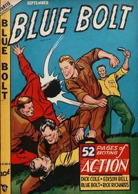 Cover Thumbnail for Blue Bolt (Novelty / Premium / Curtis, 1940 series) #v9#4 [94]