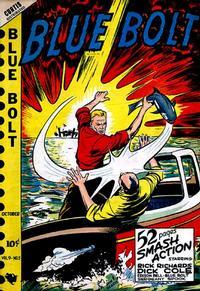 Cover Thumbnail for Blue Bolt (Novelty / Premium / Curtis, 1940 series) #v9#5 [95]