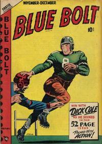 Cover Thumbnail for Blue Bolt (Novelty / Premium / Curtis, 1940 series) #v9#6 [96]