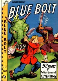 Cover Thumbnail for Blue Bolt (Novelty / Premium / Curtis, 1940 series) #v9#7 [97]