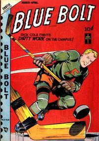 Cover Thumbnail for Blue Bolt (Novelty / Premium / Curtis, 1940 series) #v9#8 [98]