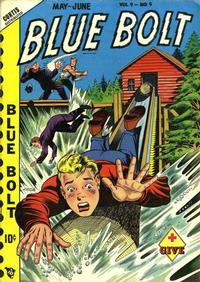 Cover Thumbnail for Blue Bolt (Novelty / Premium / Curtis, 1940 series) #v9#9 [99]